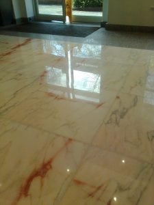 Marble Polishing After