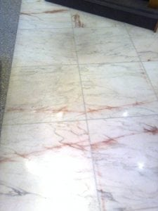 Marble Polishing Before.