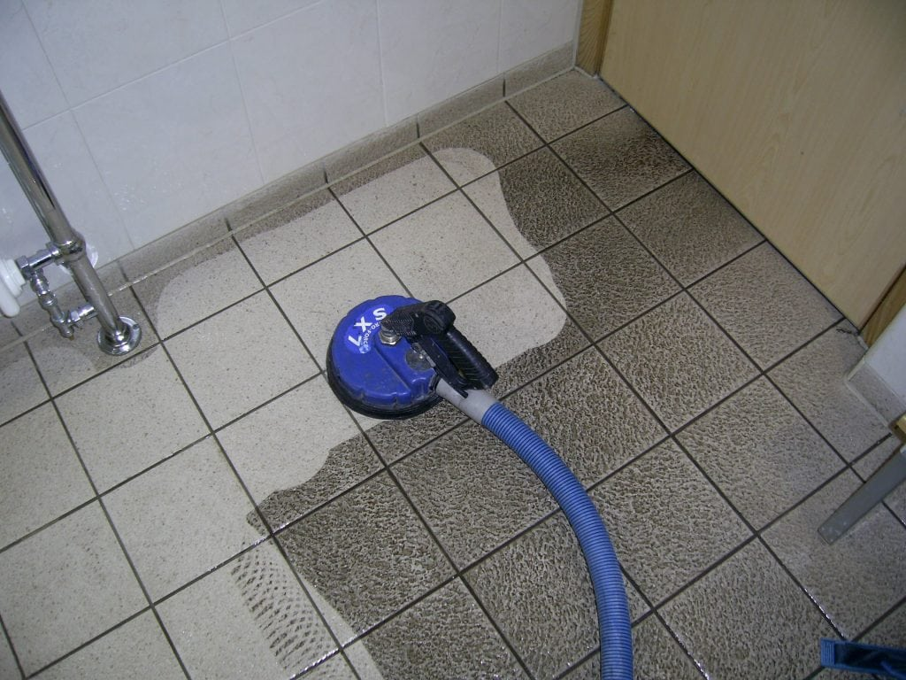 Tile floor Cleaning Manchester from NuLifeFloorcare.co.uk