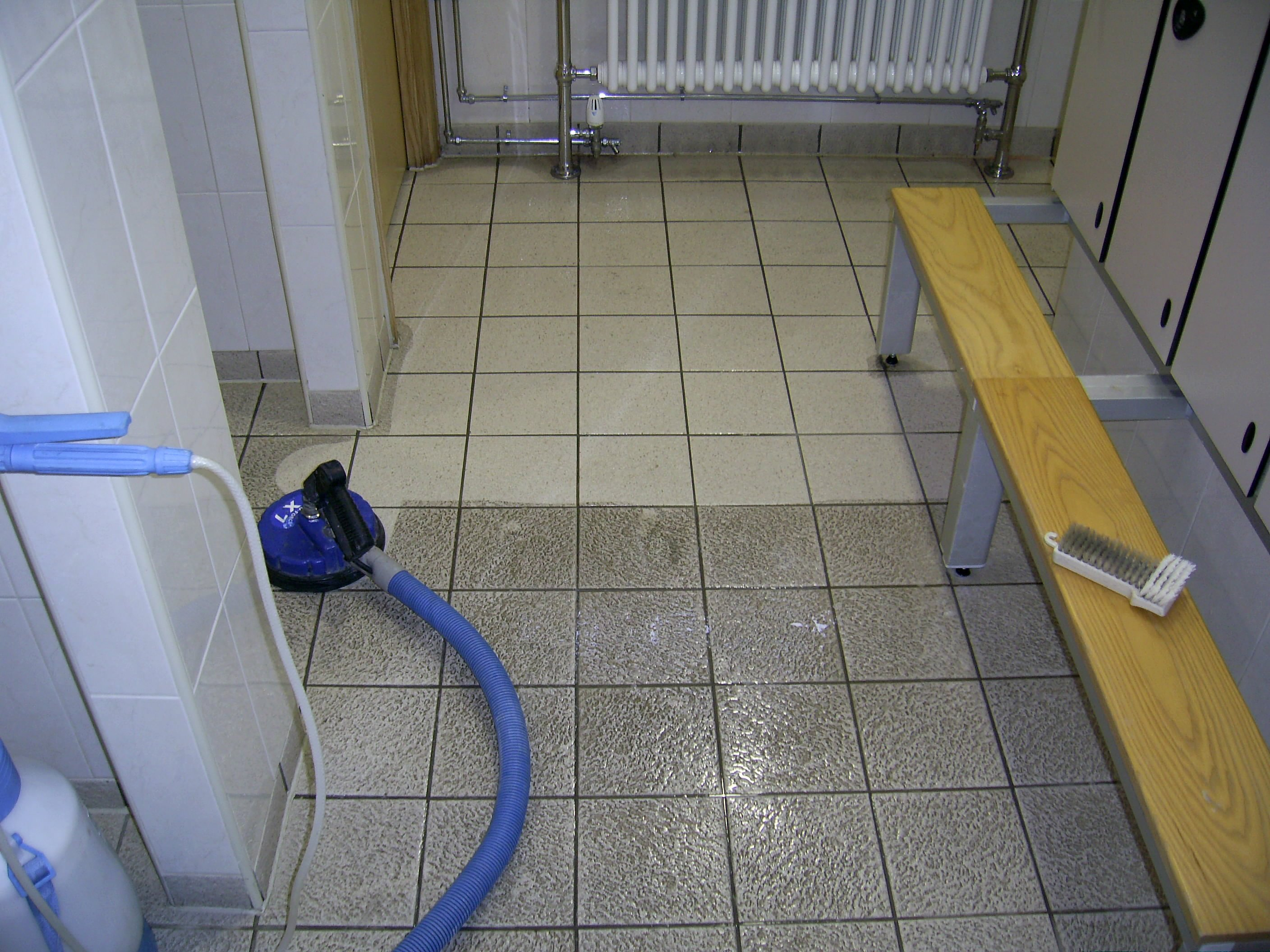 professional tile cleaning  grout cleaning  sealing and
