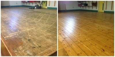 Commercial Floor Sanding Services Manchester