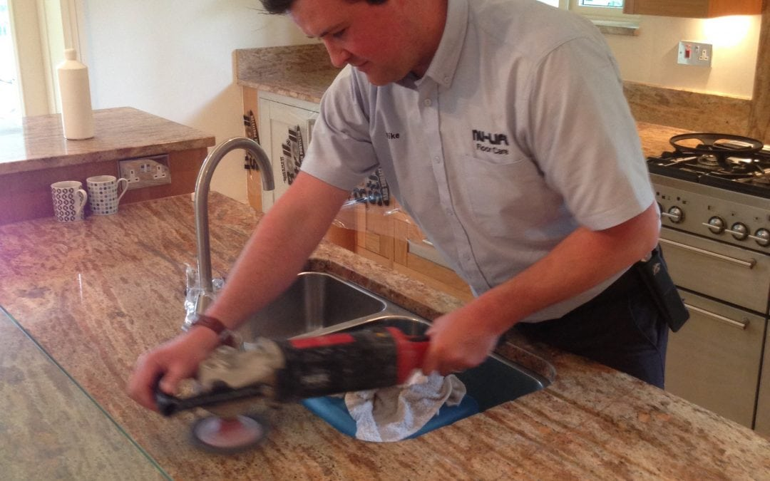 Marble Worktop Cleaning and Polishing